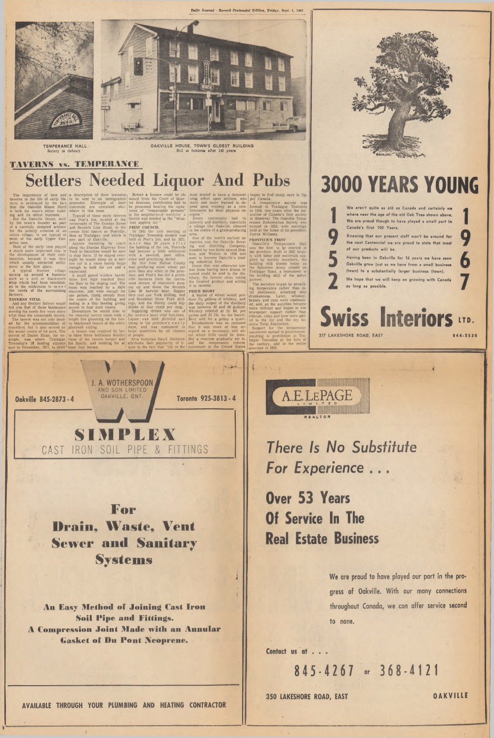 Daily Journal Record, 1 Sep 1967