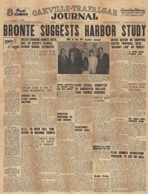 Oakville Trafalgar Journal, 30 Apr 1953