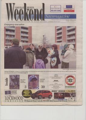 Oakville Beaver, 25 Mar 2006