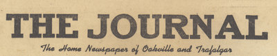 Journal (The Home Newspaper of Oakville and Trafalgar)