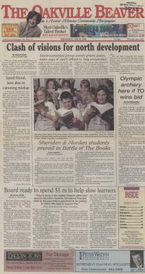 Oakville Beaver, 24 May 2000