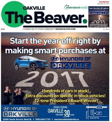 Oakville Beaver, 19 Jan 2017