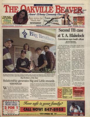 Oakville Beaver, 21 Jul 2000
