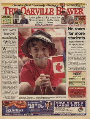 Oakville Beaver, 25 Aug 2000