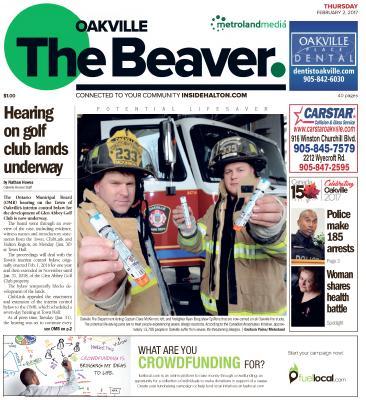 Oakville Beaver, 2 Feb 2017