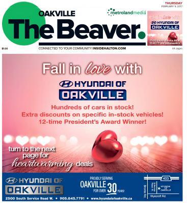 Oakville Beaver, 9 Feb 2017