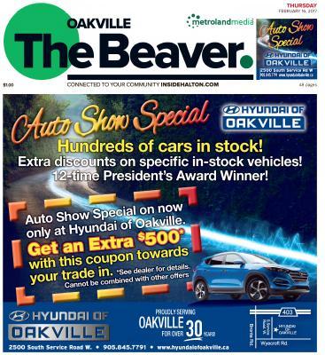 Oakville Beaver, 16 Feb 2017