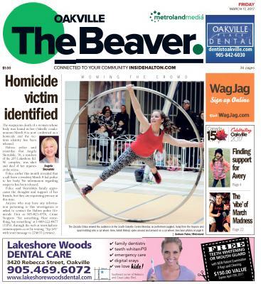 Oakville Beaver, 17 Mar 2017
