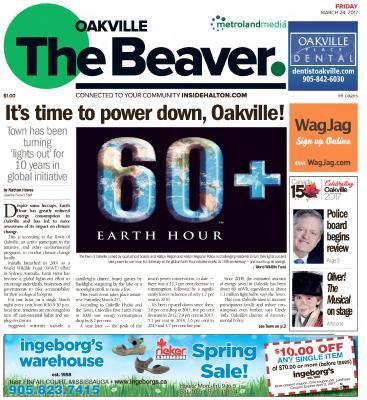Oakville Beaver, 24 Mar 2017