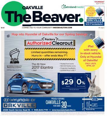 Oakville Beaver, 13 Apr 2017