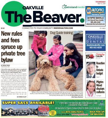 Oakville Beaver, 4 May 2017