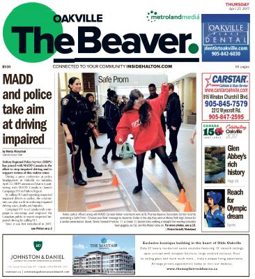 Oakville Beaver, 27 Apr 2017
