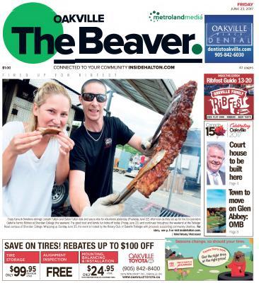 Oakville Beaver, 23 Jun 2017