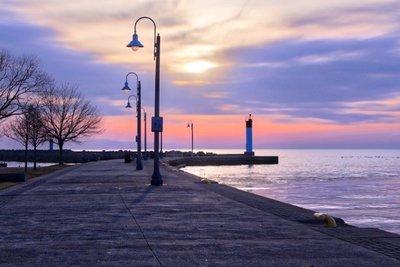 Sunrise Bronte Harbour