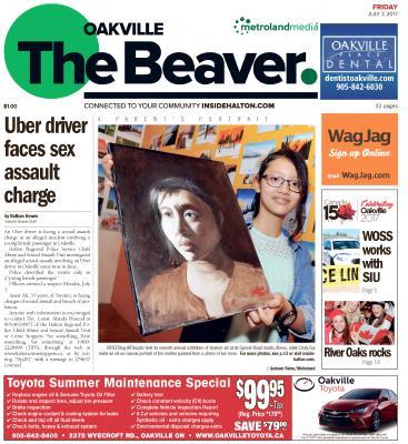 Oakville Beaver, 7 Jul 2017
