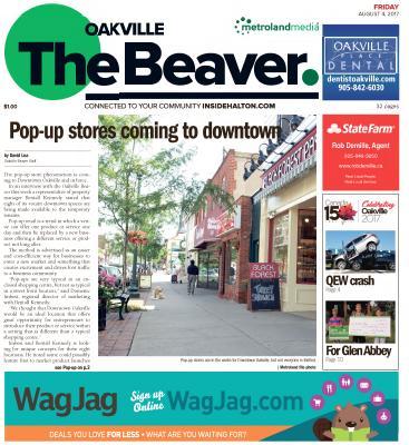 Oakville Beaver, 4 Aug 2017