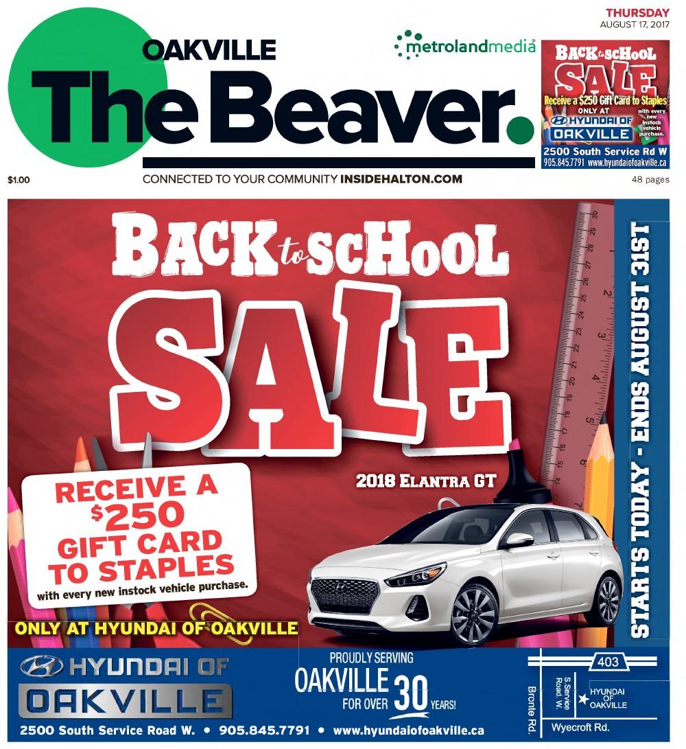 Oakville Beaver, 17 Aug 2017
