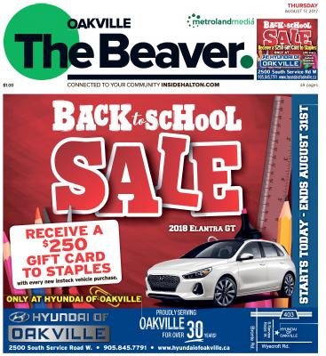 Oakville Beaver, 17 Aug 2017