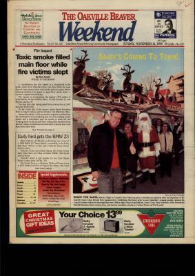 Oakville Beaver, 14 Nov 1999