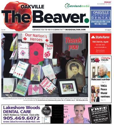 Oakville Beaver, 10 Nov 2017