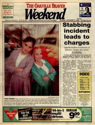Oakville Beaver, 17 Oct 1999