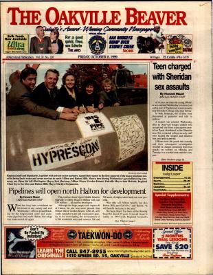 Oakville Beaver, 8 Oct 1999