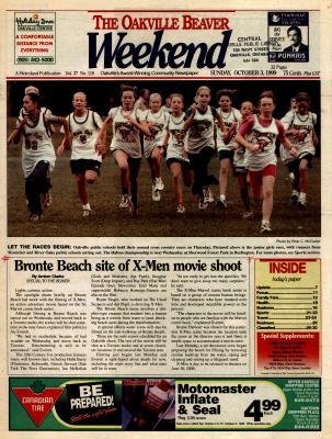 Oakville Beaver, 3 Oct 1999