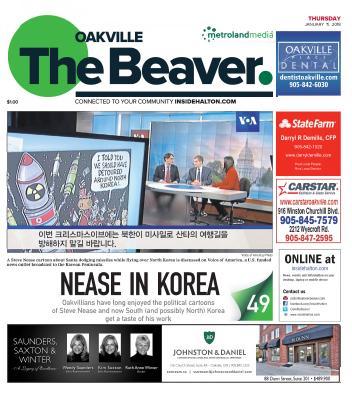 Oakville Beaver, 11 Jan 2018
