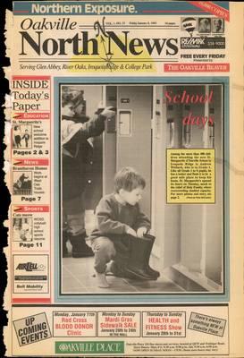 Oakville North News (Oakville, Ontario: Oakville Beaver, Ian Oliver - Publisher), 8 Jan 1993