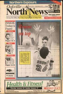 Oakville North News (Oakville, Ontario: Oakville Beaver, Ian Oliver - Publisher), 22 Jan 1993
