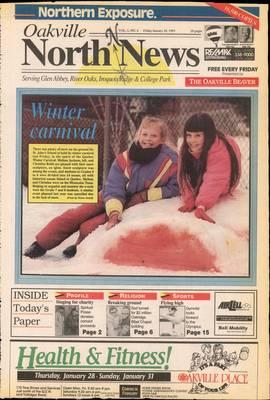 Oakville North News (Oakville, Ontario: Oakville Beaver, Ian Oliver - Publisher), 29 Jan 1993