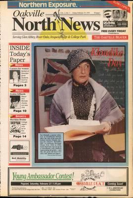 Oakville North News (Oakville, Ontario: Oakville Beaver, Ian Oliver - Publisher), 19 Feb 1993