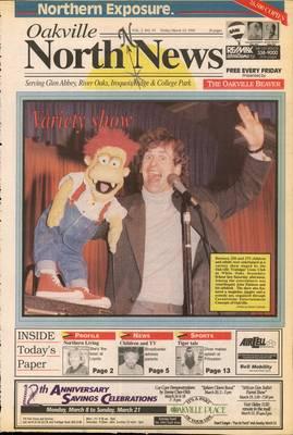 Oakville North News (Oakville, Ontario: Oakville Beaver, Ian Oliver - Publisher), 12 Mar 1993