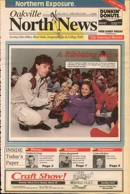 Oakville North News (Oakville, Ontario: Oakville Beaver, Ian Oliver - Publisher), 19 Mar 1993
