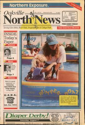 Oakville North News (Oakville, Ontario: Oakville Beaver, Ian Oliver - Publisher), 30 Jul 1993