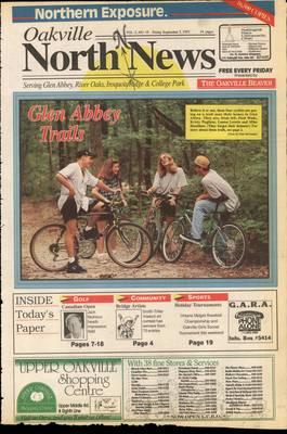Oakville North News (Oakville, Ontario: Oakville Beaver, Ian Oliver - Publisher), 3 Sep 1993