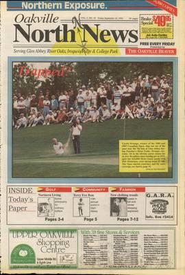 Oakville North News (Oakville, Ontario: Oakville Beaver, Ian Oliver - Publisher), 10 Sep 1993