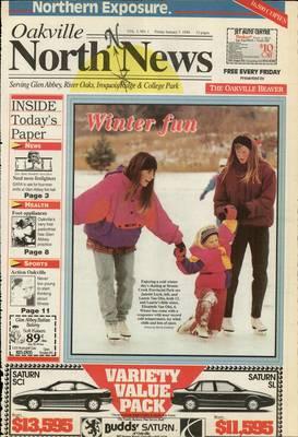 Oakville North News (Oakville, Ontario: Oakville Beaver, Ian Oliver - Publisher), 7 Jan 1994