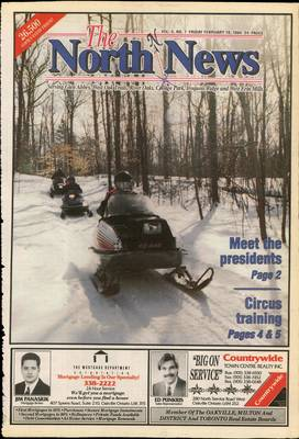 Oakville North News (Oakville, Ontario: Oakville Beaver, Ian Oliver - Publisher), 18 Feb 1994