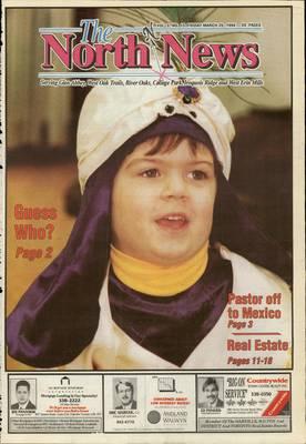 Oakville North News (Oakville, Ontario: Oakville Beaver, Ian Oliver - Publisher), 25 Mar 1994