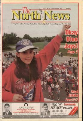 Oakville North News (Oakville, Ontario: Oakville Beaver, Ian Oliver - Publisher), 3 Jun 1994