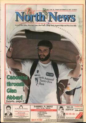 Oakville North News (Oakville, Ontario: Oakville Beaver, Ian Oliver - Publisher), 23 Sep 1994