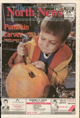 Oakville North News (Oakville, Ontario: Oakville Beaver, Ian Oliver - Publisher), 28 Oct 1994