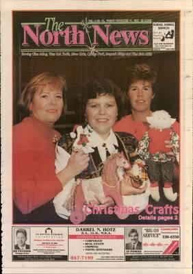 Oakville North News (Oakville, Ontario: Oakville Beaver, Ian Oliver - Publisher), 11 Nov 1994