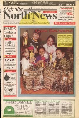 Oakville North News (Oakville, Ontario), 17 Dec 1993