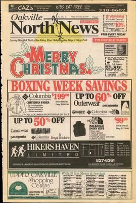 Oakville North News (Oakville, Ontario), 26 Dec 1993