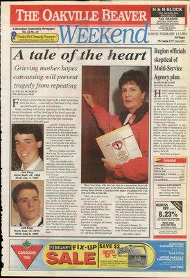 Oakville Beaver, 13 Feb 1994