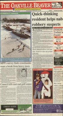 Oakville Beaver, 16 Feb 1994