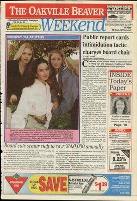 Oakville Beaver, 20 Feb 1994