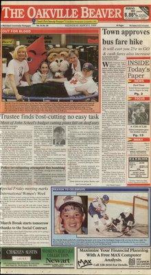 Oakville Beaver, 9 Mar 1994